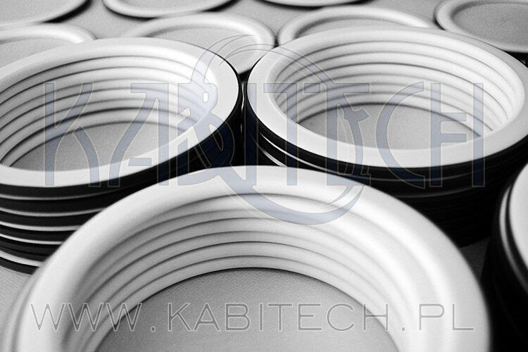 uszczelki w koszulce PTFE - PTFE ENVELOPED GASKETS