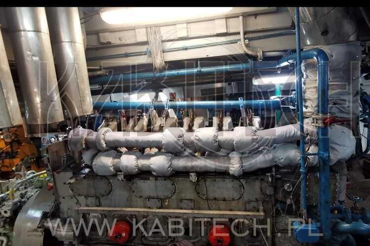 Termoizolacja turbiny i układu wydechowego